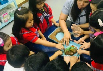 Senior casa learns the basic land and water formations