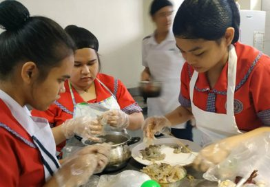 Elementary Students Cooking Class