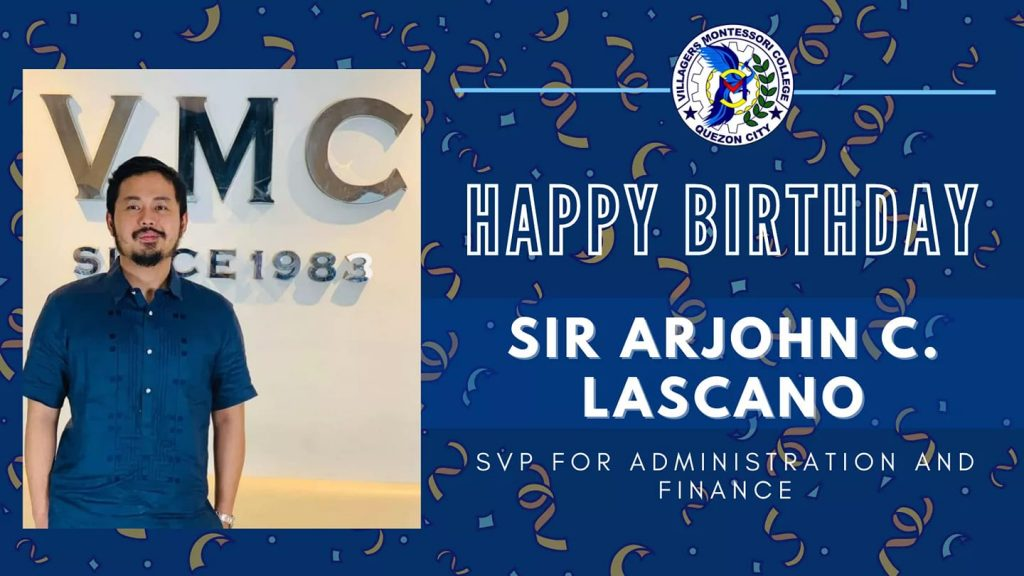 Happy Birthday Sir Arjohn Lascano
