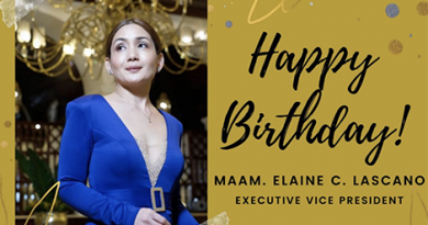 Happy birthday to our Executive Vice President