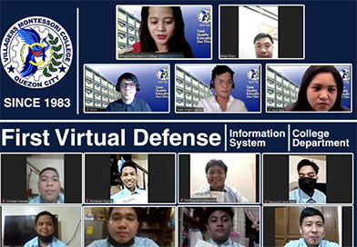 First Virtual Oral Thesis Defense
